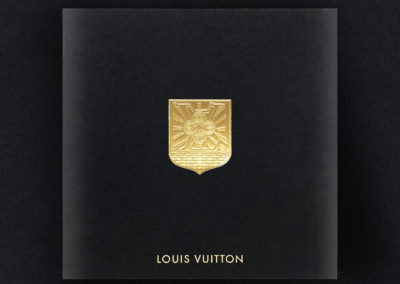LV GOLD COAT OF ARMS