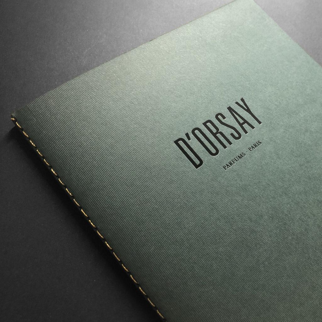Livre d'Orsay Reliure Couture Singer