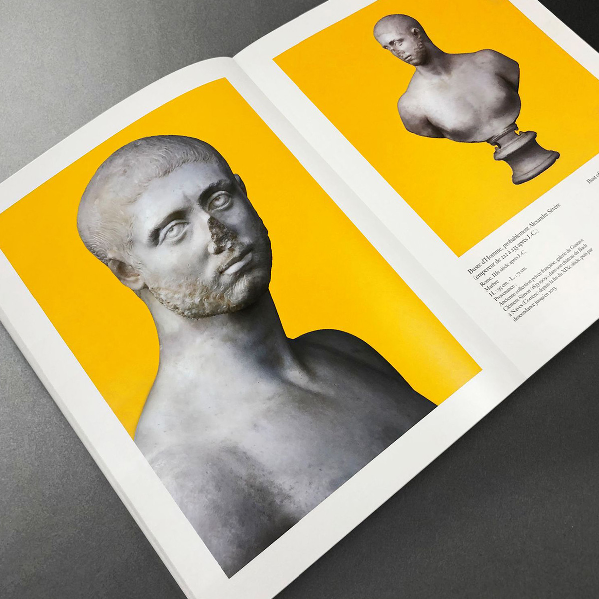 catalogue de galerie