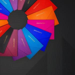 Louis Vuitton Enveloppe Colourful